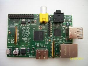 My much anticipated Raspberry Pi!